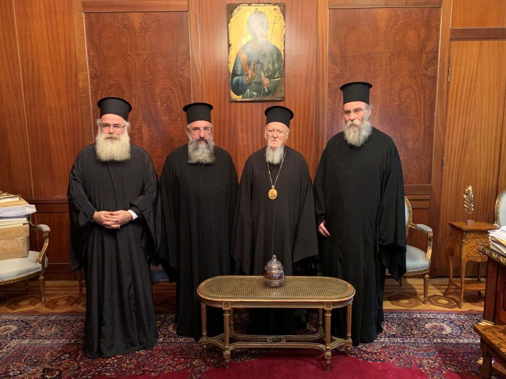 Ιεράρχες από την Κρήτη στο Φανάρι για την Θρονική Εορτή