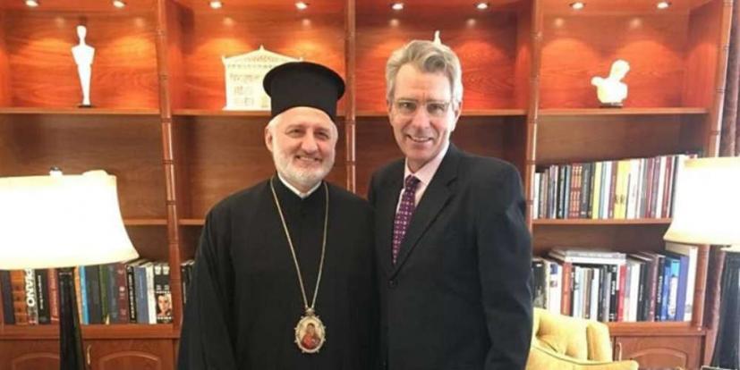 Με τον Τζ. Πάιατ συναντήθηκε ο Αρχιεπ. Αμερικής