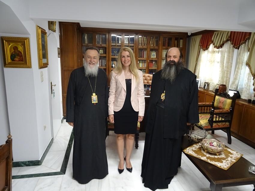 Στον Μητρ.Κορίνθου η υποψήφια βουλευτής της Ν.Δ. κ. Μαρία Παπακωνσταντίνου