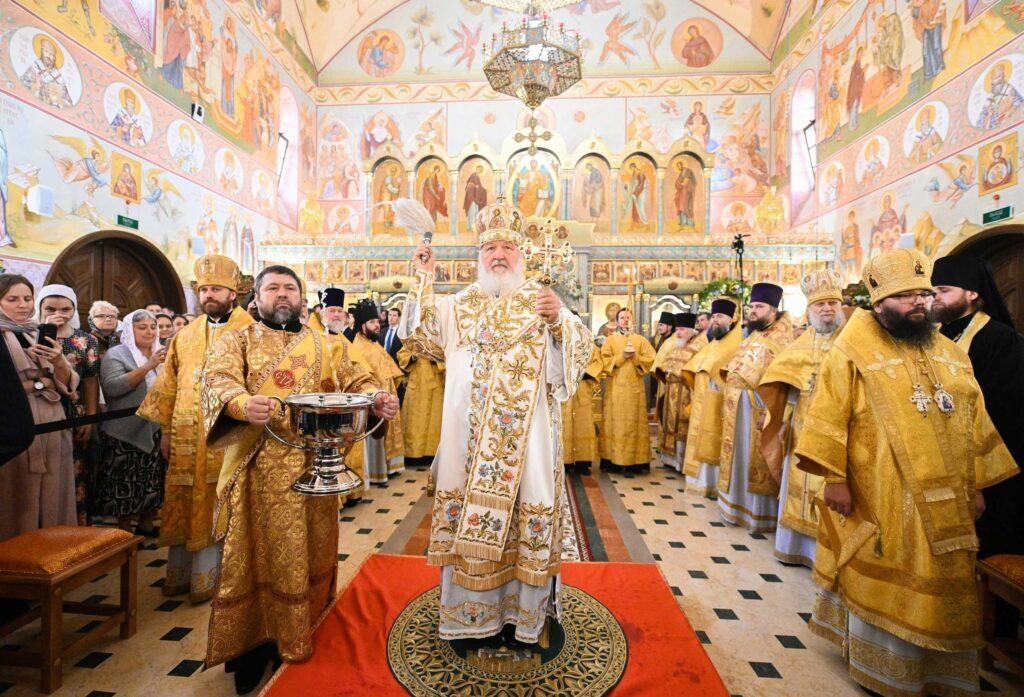 Νέο Ναό εγκαινίασε ο Πατρ. Μόσχας
