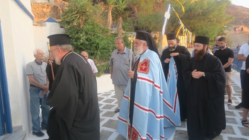 Ποιμαντική επίσκεψη στη Σέριφο πραγματοποιεί ο Μητρ. Σύρου
