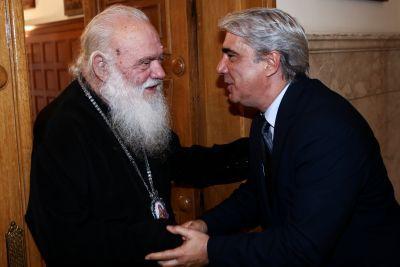 Στον Αρχιεπίσκοπο ο Βουλευτής Συμεών Κεδίκογλου