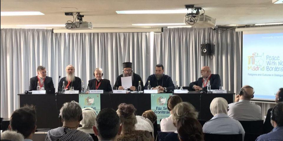 Ο Μητροπολίτης κ. Γαβριήλ εισηγητής σε Διεθνές Συνέδριο για την ειρήνη