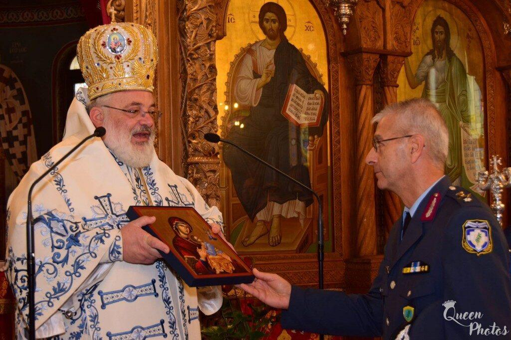 Τιμήθηκε η μνήμη του Προστάτου της ΕΛ.ΑΣ. στην Ορεστιάδα