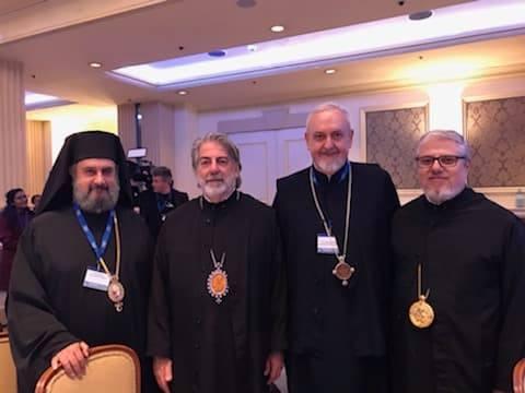 Ο Αρχιεπ. Θυατείρων σε Διαθρησκευτικό Συμπόσιο στην Αυστρία