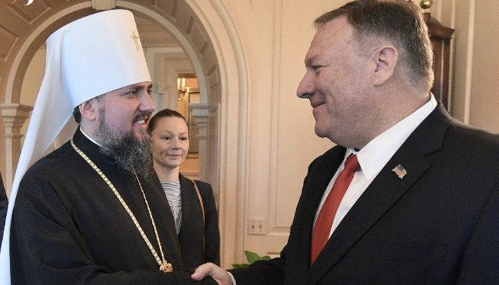 Με τον ΥΠΕΞ των ΗΠΑ συναντήθηκε ο Μητρ. Κιέβου