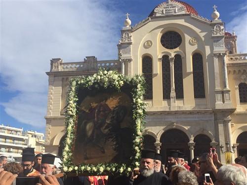 Άγιος Μηνάς: Ο φρουρός του Ηρακλείου