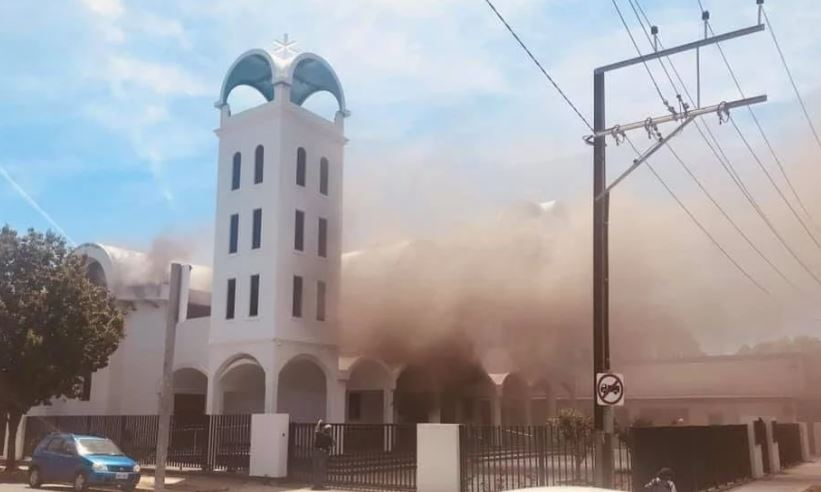 Fire causes major damage to Orthodox Church in Port Adelaide