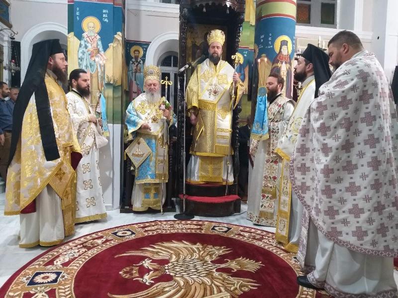 Ιερά Αγρυπνία στον Αγ. Νικόλαο Μπούρτζι
