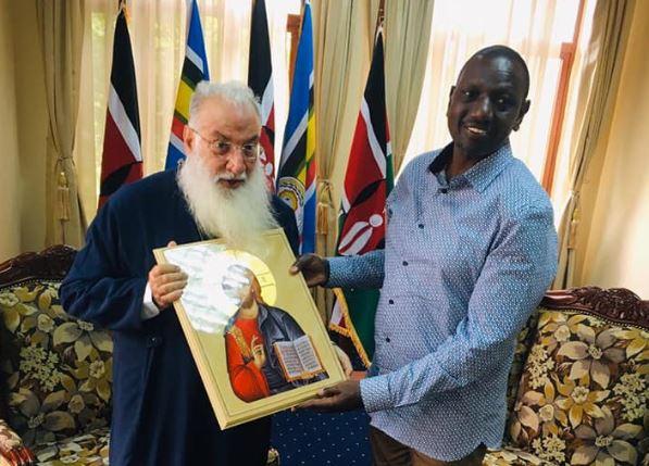 Στον Αντιπρόεδρο Κένυας ο Μητρ. Ναϊρόμπι