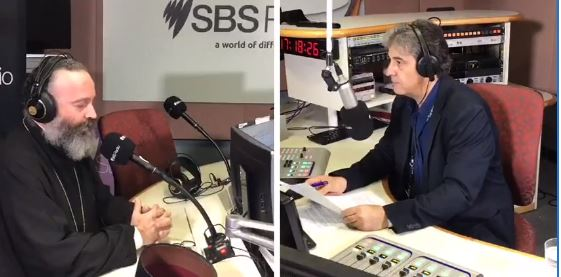 Archbishop of Australia gives radio interview to SBS Greece