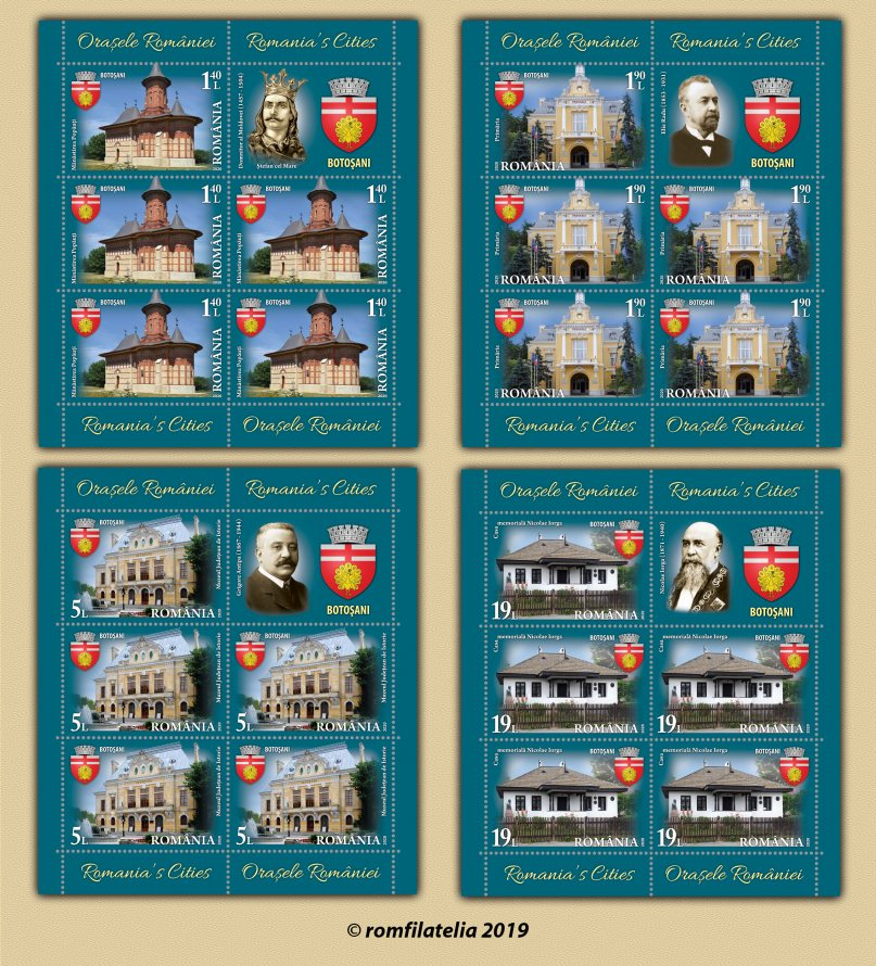 Popăuți Monastery founded by St. Stephen the Great featured on new commemorative stamp