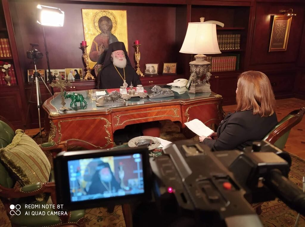 Exclusive interview by Patriarch of Alexandria and All Africa to Orthodoxia news agency