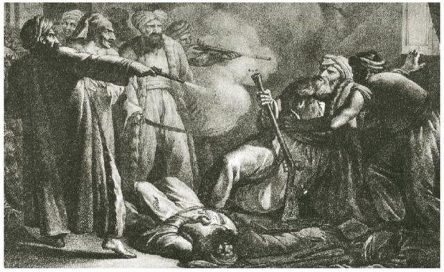 Ο θάνατος του Αλή Πασά