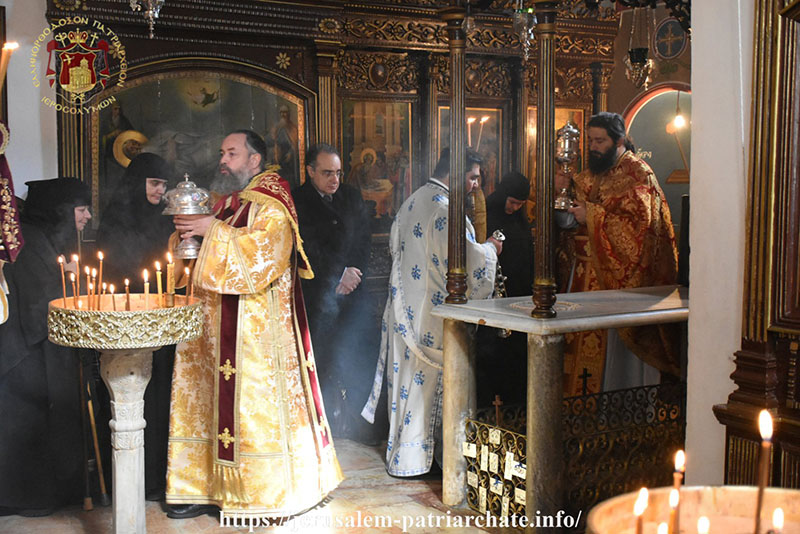 The Jerusalem Patriarchate celebrated the commemoration of Saint Simeon the God-receiver