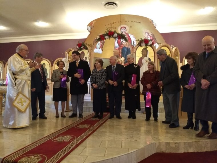 Holy Trinity-St. Nicholas in Staten Island Honors Couples Married for 50+ Years