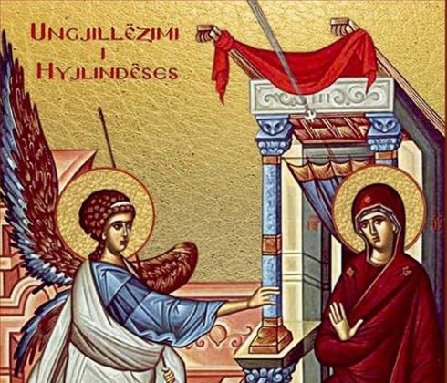 Ungjillëzimi i Hyjlindëses (Vangjelizmoi)