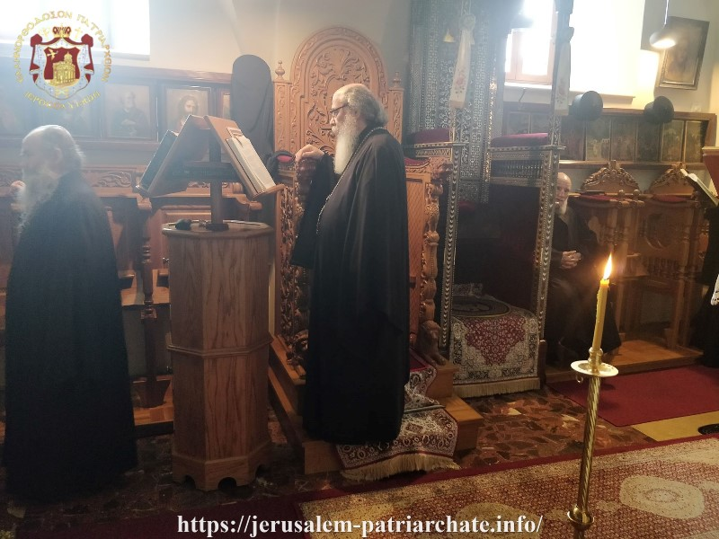 The Service of the Great Canon at the Jerusalem Patriarchate
