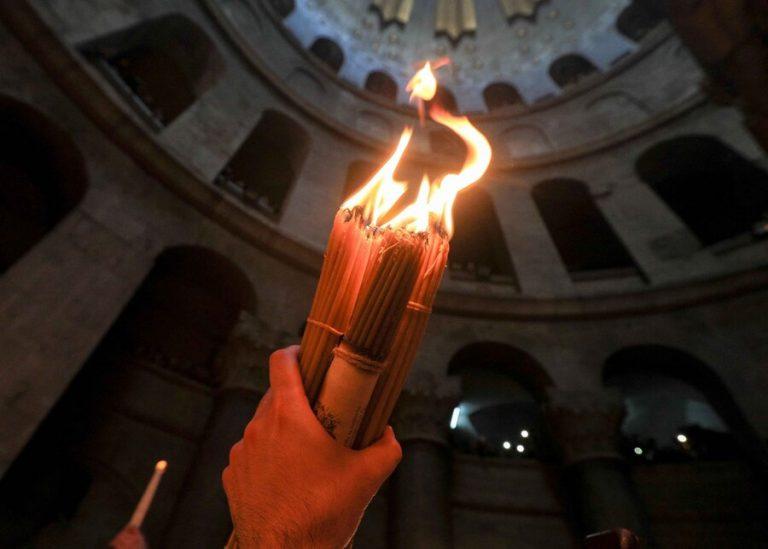 Σε «απευθείας σύνδεση» η Τελετή Αφής του Αγίου Φωτός