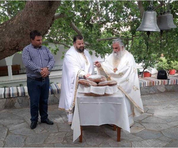 Πανηγύρισε η Ιερά Μονή Αγίου Νικολάου στην Άνω Βάθεια