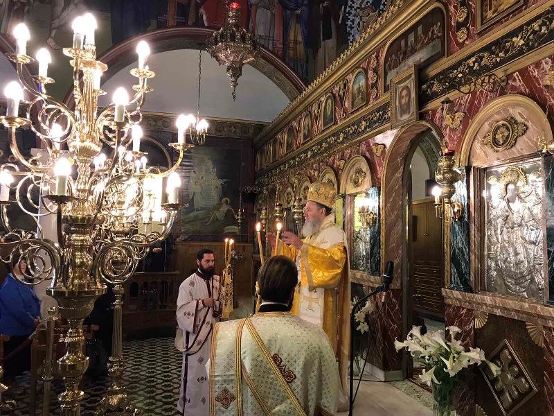 Η δεσποτική εορτή της Αναλήψεως μετά την πανήγυρη του Αγίου Ιωάννη του Ρώσου