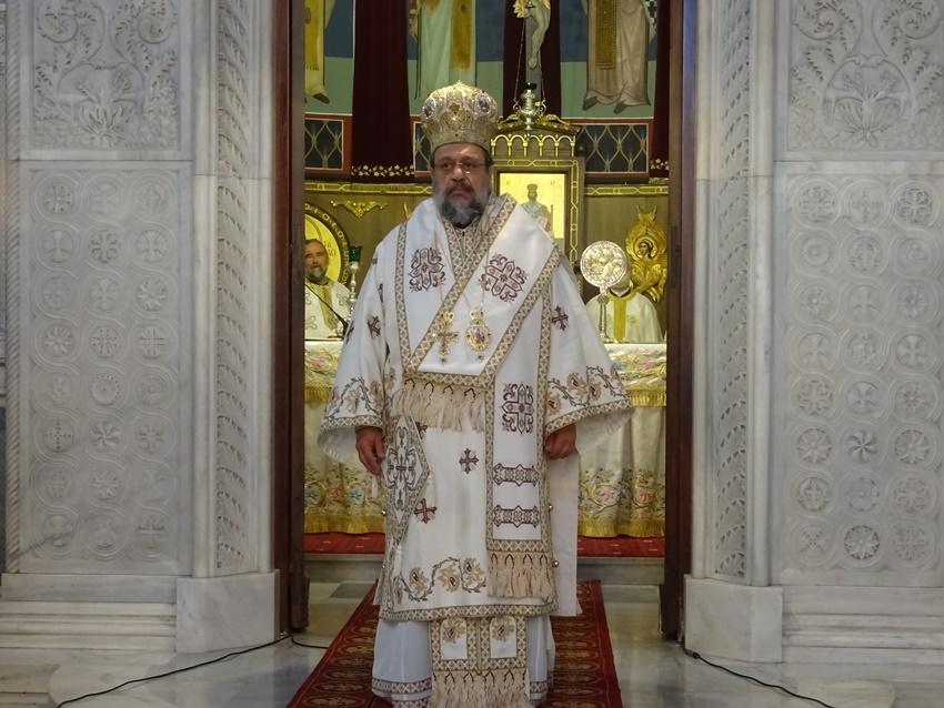 Τριαρχειρατική Θεία Λειτουργία για τον Απόστολο Παύλο στην Κόρινθο