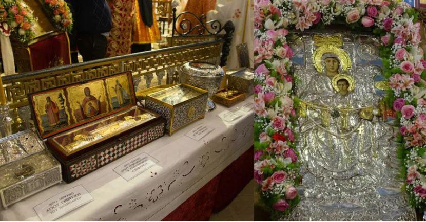 Η Νέα Ιωνία τιμά την Ι.Εικόνα Παναγίας της Διασωζούσης και τους εν Ιωνία Αγίους