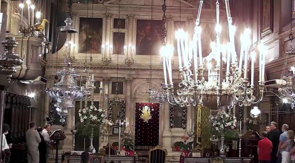 Η Κέρκυρα τιμά τον Άγιο Σπυρίδωνα (LIVE)