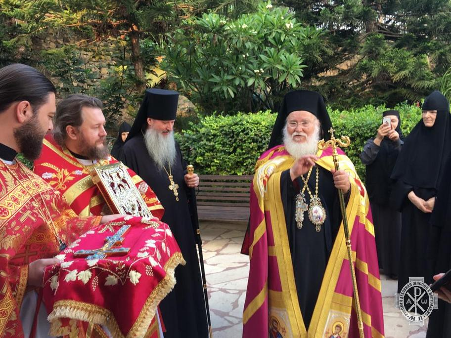 Metochion of Russian Ecclesiastical Mission in Magdala celebrates its patronal feast