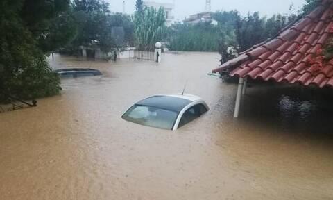 Φονικές πλημμύρες στην Εύβοια: Πέντε νεκροί