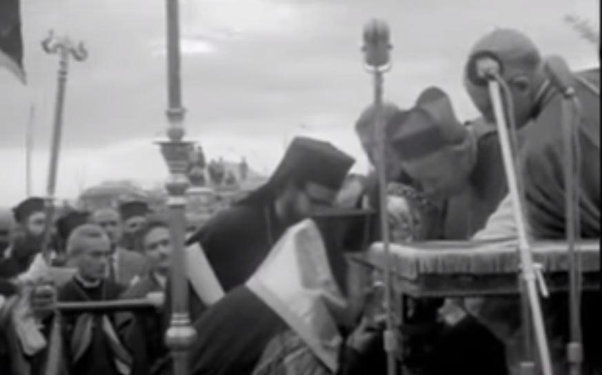 1964: Η Επανακομιδή της Τιμίας Κάρας του Αγίου Ανδρέου (ΒΙΝΤΕΟ)