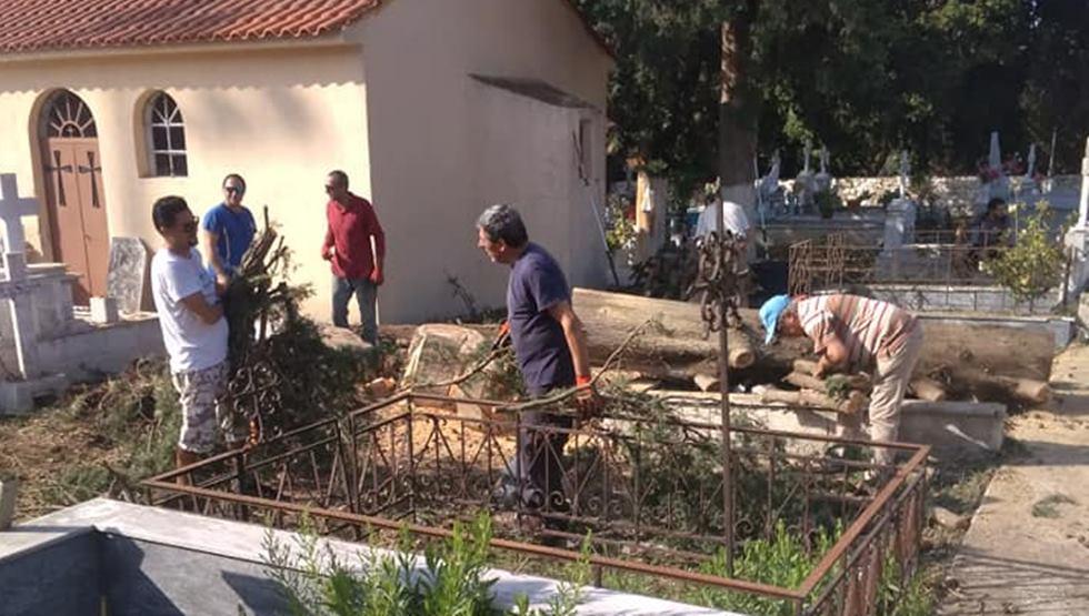 Πατρ. Ιεροσολύμων και Αρχιεπ. Αθηνών για τους πληγέντες