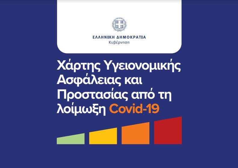 Ο νέος Χάρτης για την Προστασία από τη λοίμωξη Covid-19
