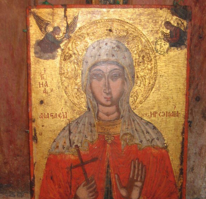 H Aγία Aναστασία η Ρωμαία, η Οσιομάρτυς