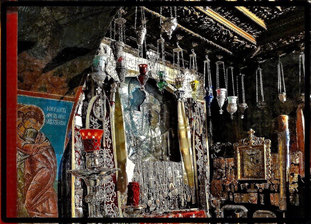 Ευχές για την Παναγία Γοργοεπήκοο από τους φίλους της Ι.Μ. Δοχειαρίου