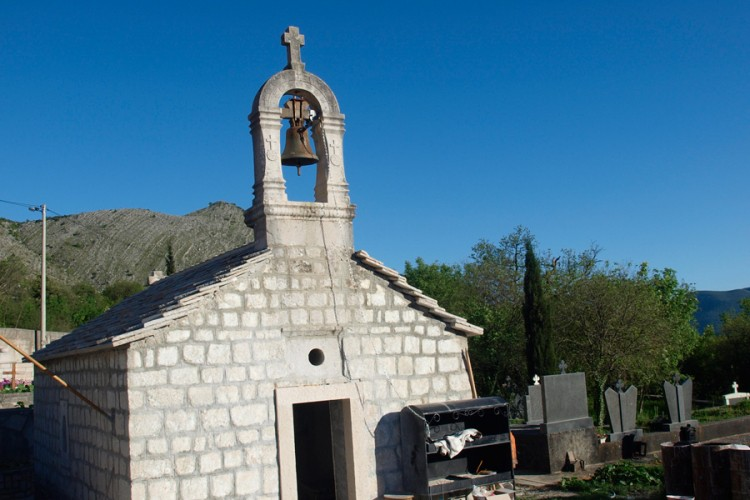 Church where St. Basil of Ostrog was baptized robbed seven times recently