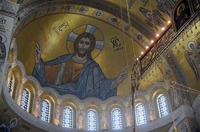 Completed mosaics unveiled in Belgrade's St. Sava Cathedral