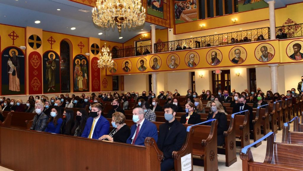 Remarks of Father Nikiphoros Fakinos at the Great Vespers of Saint Demetrios the Myrrh-Bearer, Merrick, NY