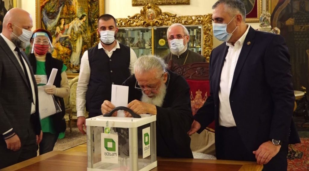 Patriarch of All Georgia calls on future government and opposition to cooperate and listen to each other