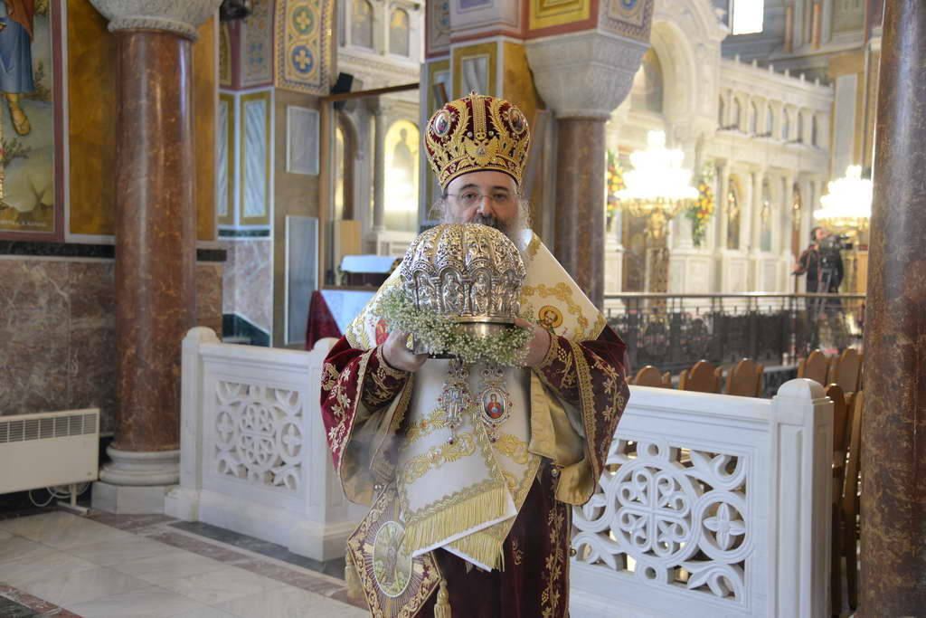Annual commemoration of St. Andrew in Patras without worshippers