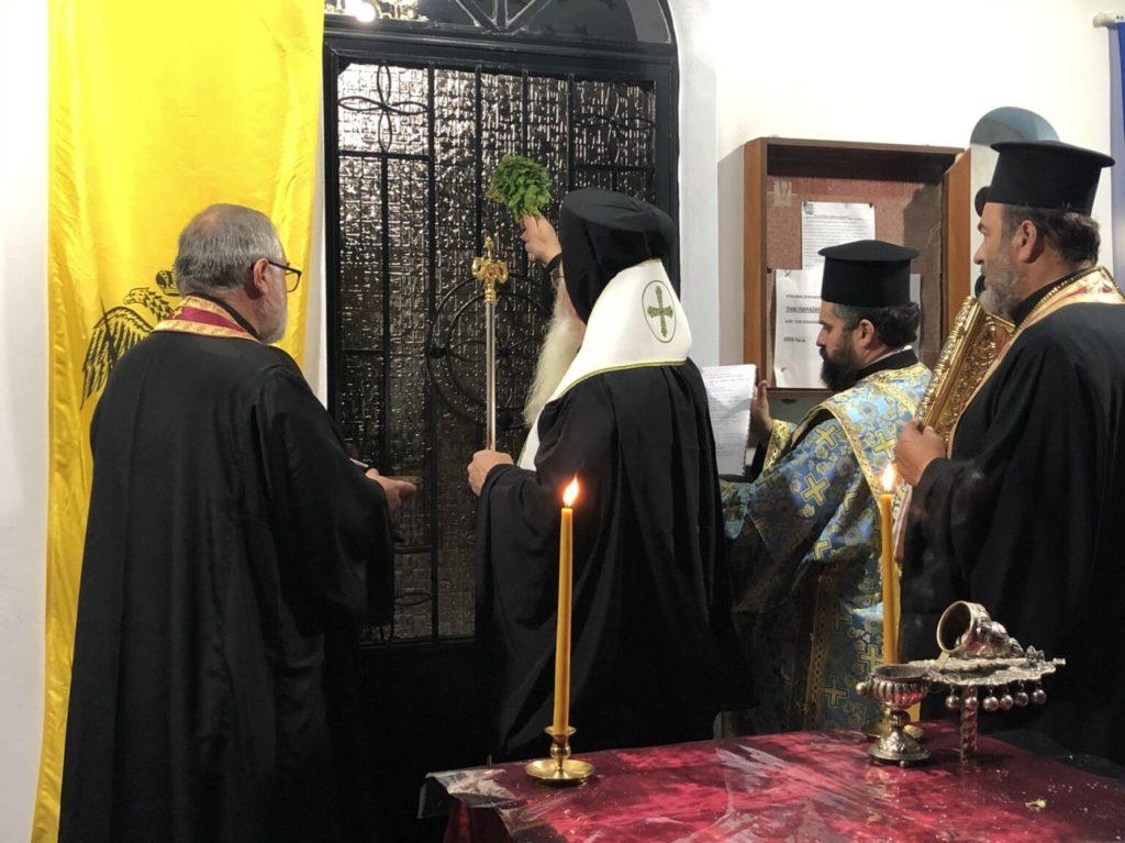 Θυρανοίξια σε Ι. Παρεκκλήσιο του Αγίου Φανουρίου στη Μητρόπολη Θηβών