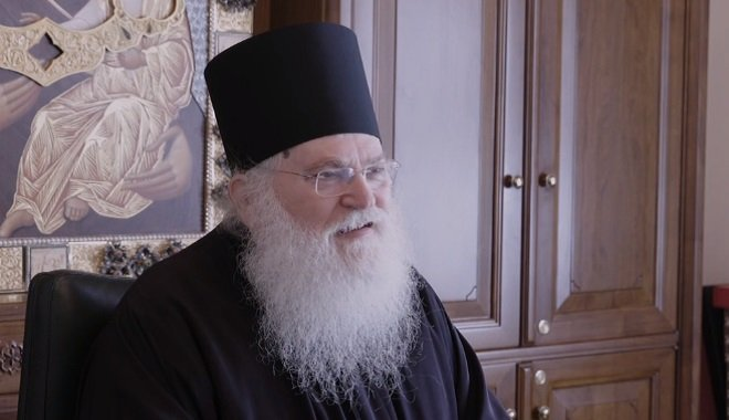 1st e-meeting from Mount Athos with Elder Ephraim and English Speaking Byzantine Chanters