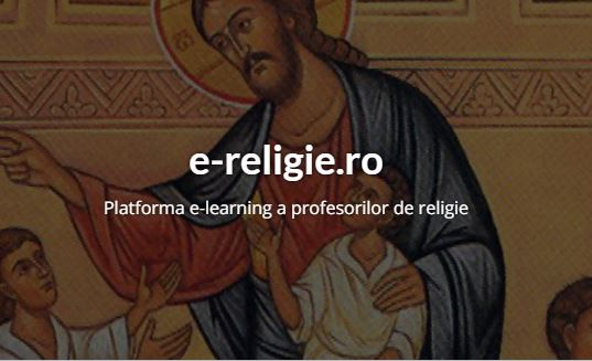 Online platform for teaching of religious lessons in Romania