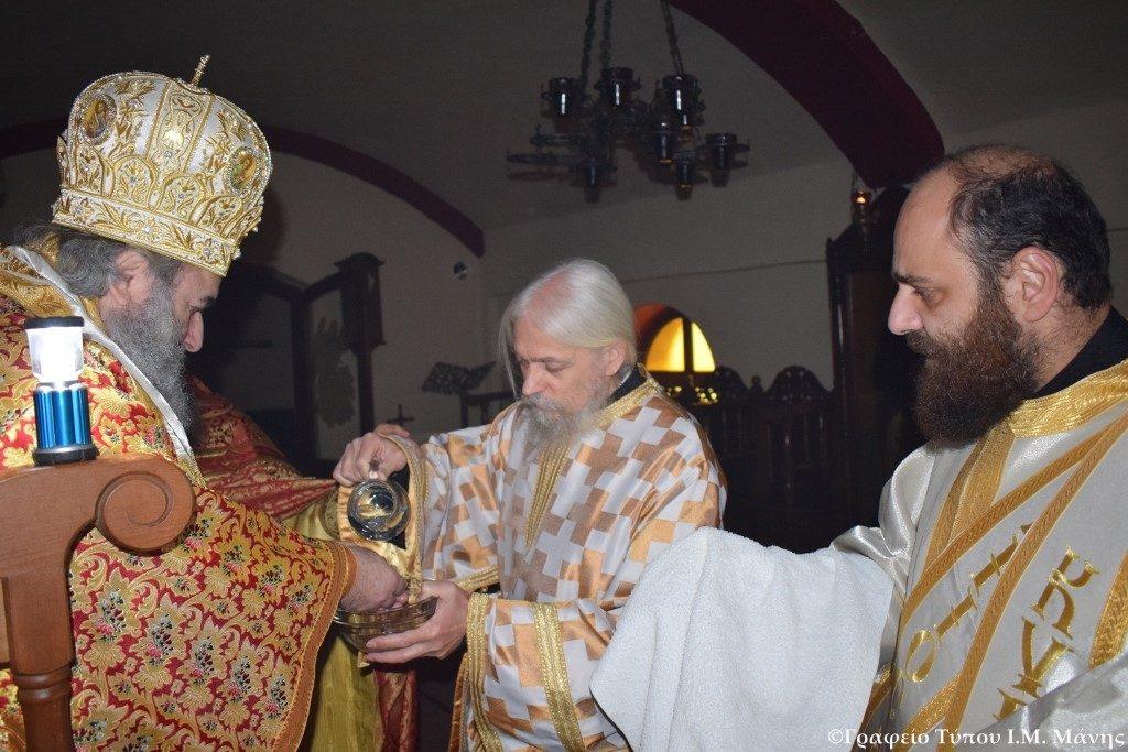 Χειροτονία Διακόνου στην Ι. Μονή Παναγίας της Γιάτρισσας