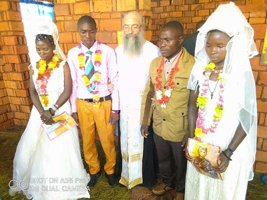 80 Baptisms and 2 weddings celebrated in Tanzania