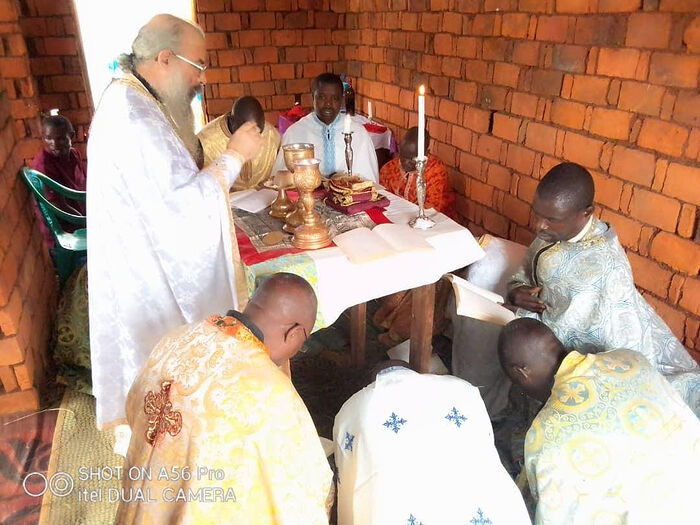 VATOPEDI MONASTERY FINANCIALLY SUPPORTING PRIESTS OF TANZANIAN DIOCESE OF BUKOBA
