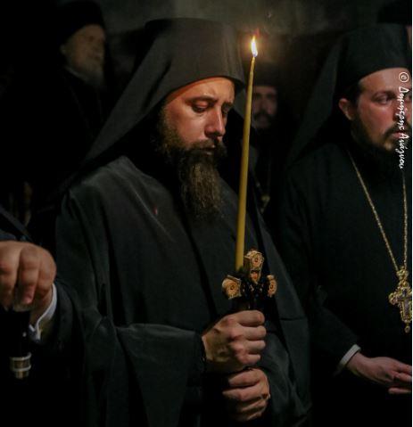 Φθιώτιδος Συμεών: «Ο μοναχός πορεύεται στην πορεία του με το Άγιο Πνεύμα»