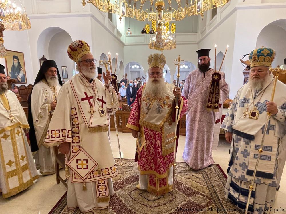Εορτάσθηκαν τα ονομαστήρια του Μητροπολίτη Ιεραπύτνης