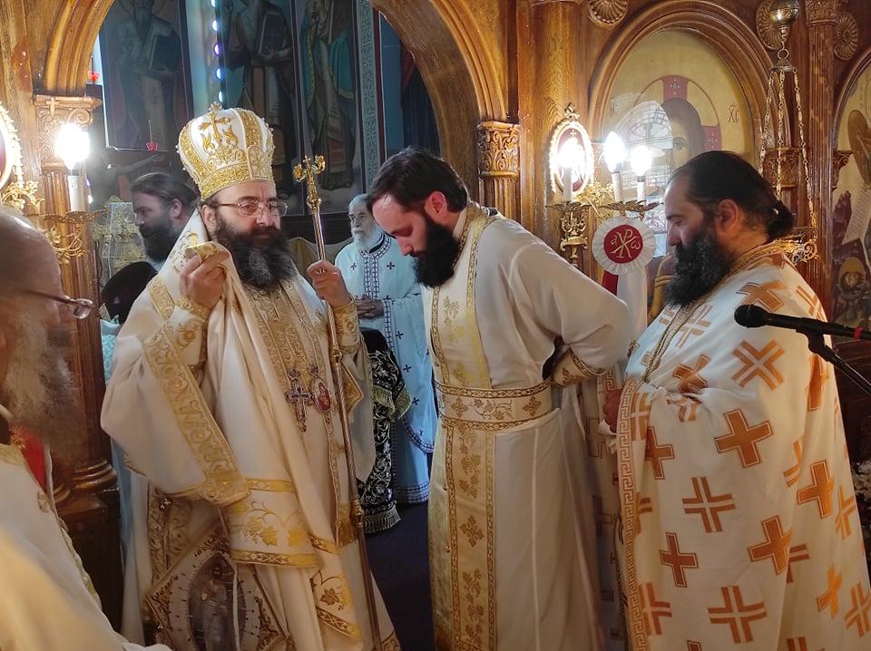 Χειροτονία Πρεσβυτέρου από τον Επίσκοπο Τεγέας