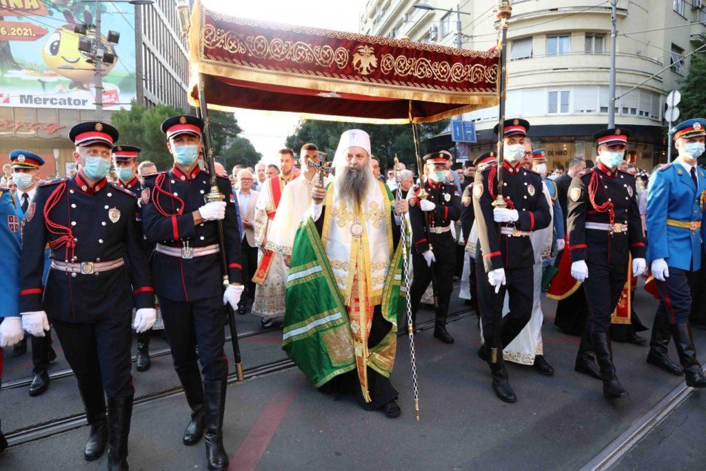 Βελιγράδι: Υποδέχτηκαν τα Λείψανα της Αγίας Πέτκας